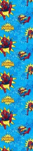 Spiderman tenda per cameretta in voile blu