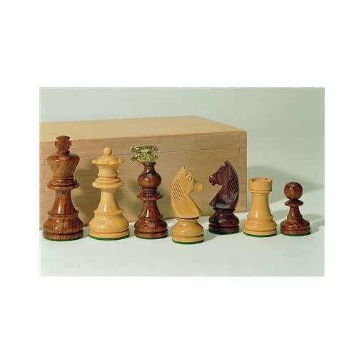 Weible-Schachfiguren-01504-aus-TeakBuchsbaum-Knigshhe-83mm