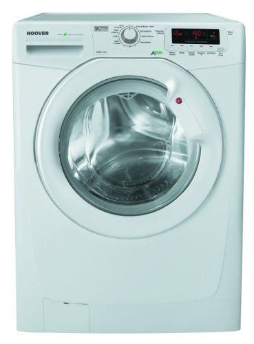 Hoover DYN 7145 D Waschmaschine FL/A+++ / 175 kWh/Jahr / 1400 UpM / 7 kg / 9600 L/Jahr / 59 Min. Schnell-Waschprogramm/Optionstaste Leichtbügeln/weiß
