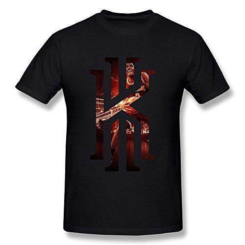 Dzzlee Clothes  Herren T-Shirt Schwarz Schwarz (Derrick Rose Logo Shirt)