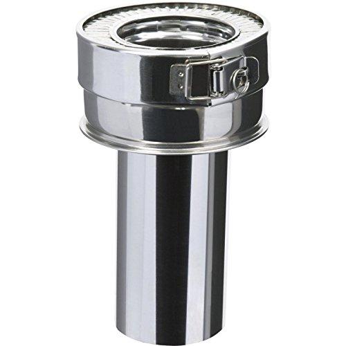 Réduction conique gauffré THERMINOX TI , diamètre 150/153 mm Réf. P150TZ 153G / 21150140