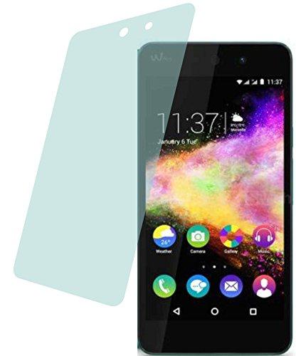 4ProTec Wiko Rainbow Up (4 Stück) Premium Bildschirmschutzfolie Displayschutzfolie kristallklar Schutzhülle Bildschirmschutz Bildschirmfolie Folie