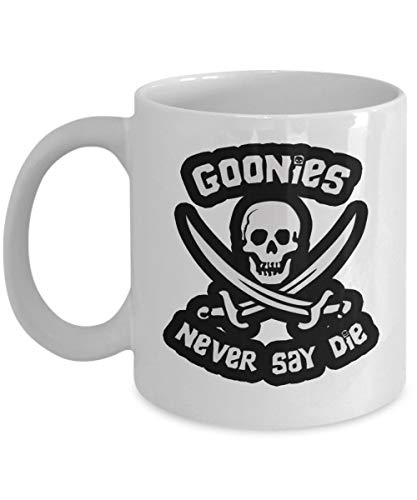 The Goonies Never Say Die White Coffee Mug