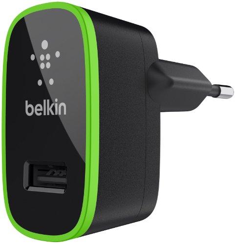 Belkin USB-Ladegerät Netzladegerät (2,1A, 10 Watt, geeignet für iPhone 8/8 Plus, iPhone X, iPhone 7/7 Plus, iPhone 6/6s/6 Plus/6s Plus, iPhone SE, Smartphones und Tablets) schwarz (Belkin Netzteil)