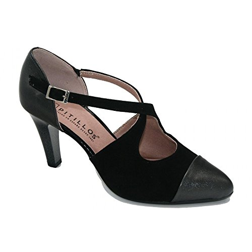 PITILLOS, Scarpe col tacco donna nero Size: 37