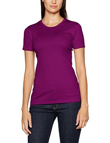 Trigema 502201 - T-shirt - Femme Violet - Framboise