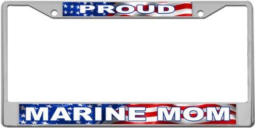 proud-marine-mom-plaque-immatriculation-sur-cadre-en-metal-de-chaunax-laserworks