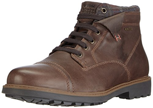 Geox U NORWOLK D, Herren Chukka Boots, Braun (C6ML6COFFEE/MUD), 46 EU