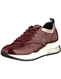 Liu Jo Damen Karlie 14 Bordeaux Sneaker