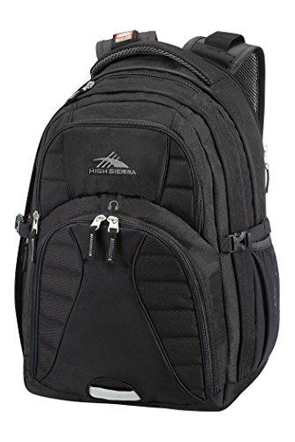 High Sierra 67032-1041 Sportive Packs Rucksack, 48 cm, 30.0 Liter, Schwarz (Daypack Sierra Rucksack High Swerve)