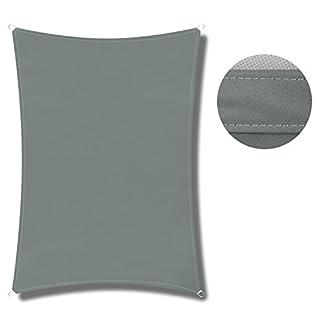 41TTgkXfWSL. SS324  - COCOFLY, tenda parasole, tettoia triangolare, filtra i raggi UV, stile a vela, per esterni: terrazza, giardino, piscina, 30,5 x 30,5 x 30,5 cm