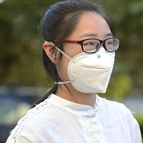 Ballylelly Staub- und Nebelmaske Industriestaubschutz siebenlagig 9002 Kopf tragen Typ Gesundheits- und Schönheitspflegeprodukte -