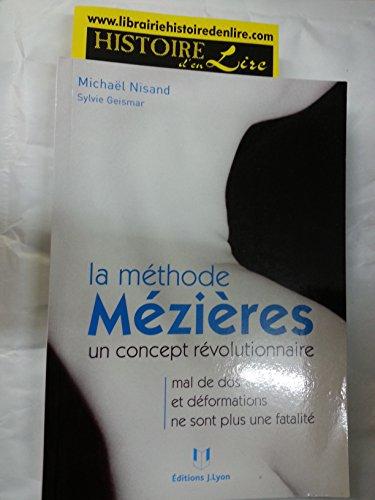 La mthode Mzire Un concept rvolutionnaire Mal de dos et dformations