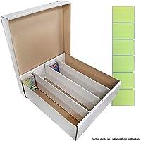 TCG 2 Aufbewahrungboxen - Deck-Boxen für je 4000 Karten (Magic / Pokemon / YuGiOh Karten)