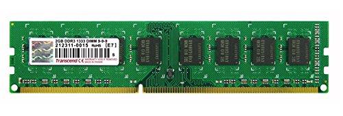 Transcend 2gb 240-pin (Transcend TS256MLK64V3U 2GB PC3-1333 Arbeitsspeicher (2 Rank, 1333 MHz, DDR3))