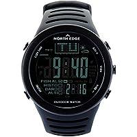 Hermosairis North Edge 720 Outdoor Angeln Uhr Höhenmesser Barometer Thermometer Männer Smart Digital Sportuhr für Klettern Wandern