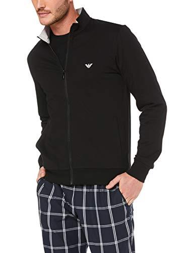 Emporio Armani Offenes Sweatshirt für Herren mit langärmeligem Reißverschluss Artikel 111532 9P571