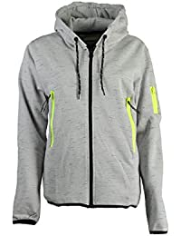 Geographical Norway - Sweat à capuche Femme Geographical Norway Fashionista Gris Clair