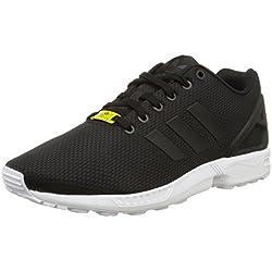 adidas Originals Men's Shoes | Zx Flux Pk Fashion Sneakers, Mid Grey WhiteElectricity, (10 M US)