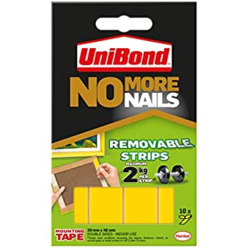 Unibond Uni781739 No More Nails Strip Ultra Strong