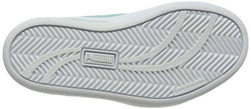 Puma Smash Fun Sd V Ps, Sneakers Basses Mixte Enfant Bleu (Aruba Blue-puma White 08)