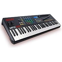 AKAI Professional MPK261 Tastiera MIDI e Controller con 61 Tasti Semi-Pesati, Controlli MPC + Software
