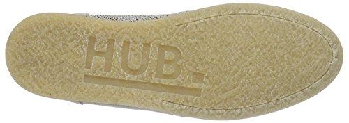Hub Buckie Ds Damen Derby Mehrfarbig (ecru/naturel 044)