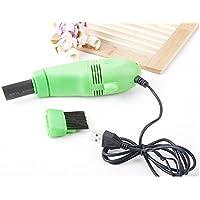 SIMPLISIM: Mini Aspirateur Brosse USB Nettoyeur Clavier Ventilateur Ordinateur Portable PC