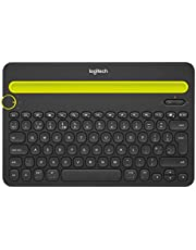 Logitech K480 Multi Device Bluetooth Keyboard for PC, Smartphone and Tablet - Black