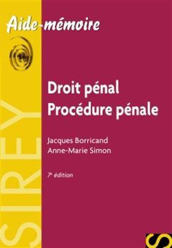 Droit pénal - Procédure pénale