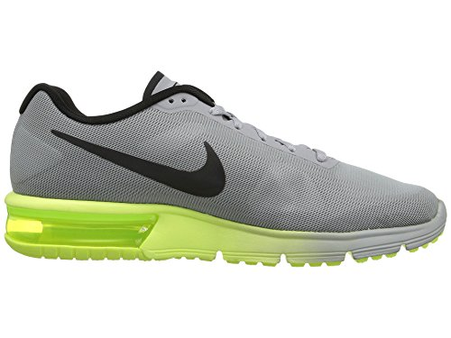 Nike Herren Air Max Sequent Laufschuhe Gris (Wolf Grey / Black-Volt)