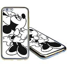 Minnie Mouse Funda Case Cover para Iphone 6s & Iphone 6 (4.7 Pulgadas) - Soft Printed Combination Funda Case - Phone Accessories