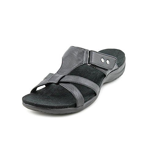 Easy Street Blaze Schmal Synthetik Sandale Black Burnish