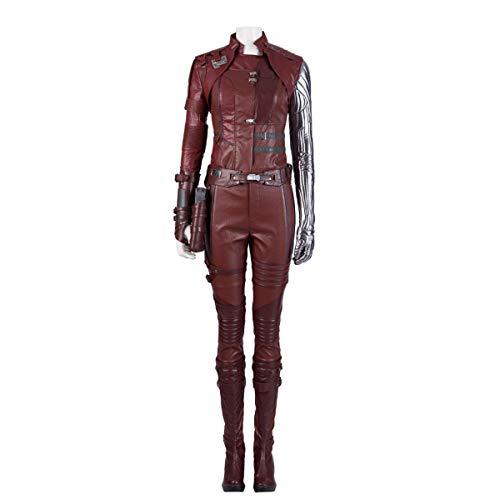 Erwachsene Deluxe Frauen Kostüm Für - QWEASZER Marvel Avengers 4 Nebula Superheld Cosplay Kostüm Erwachsene Deluxe Kostüm Anime Kostüme Frauen Film Kostüm Overall Onesies,Nebula-XXL