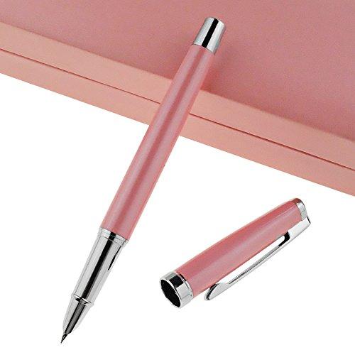 Luxus Füllfederhalter für Damen Office Executive Business Schreiben, Journaling und Signature Student Graduation Kalligraphie Tinte Refill Konverter mit Geschenk-Box