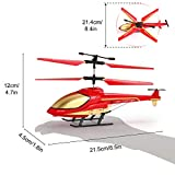 Remote Control Helicopter, S810 RC Helicopter Indoor- Remote Control Airplane 3.5 Channel Built-in Gyro Anti-Collision RC Drone Toy for Kids Teenage Boys Gifts