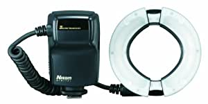 Nissin NI-HMF18N MG 8000 Flash annulaire pour Reflex numérique Nikon Noir