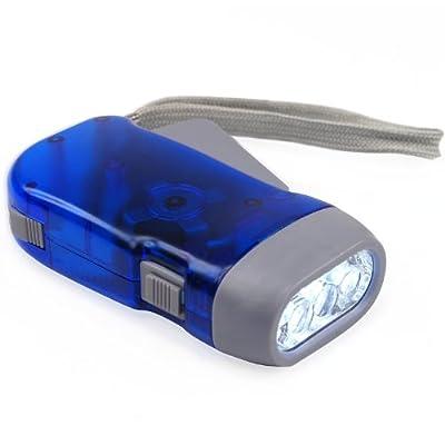 DIGIFLEX Batterielose LED-Taschenlampe mit Dynamo und 3 LEDs für Camping von DIGIFLEX bei Outdoor Shop