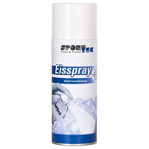 Sport-Tec 1 x Eisspray, 400 ml EIS Spray Kältespray Kühlspray Vereisungsspray Icespray