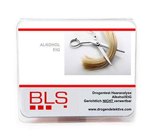 Haaranalyse Alkohol/EtG - Gerichtlich nicht verwertbar - Labor Analyse der Haare - - Haare Drogentest