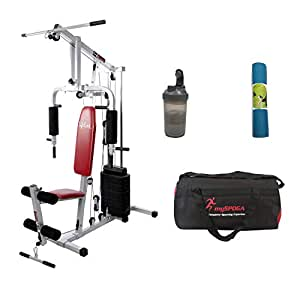 ef31eed6cb80 ... Lifeline HG 002 Multi Exercise Gym Machines for Home Workout Bundles  with Gym Bag