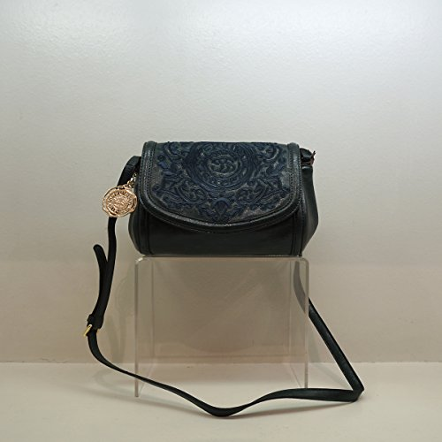 Borsa Scervino Street Cod. SCBPU0000068 Babette verde scuro marrone shoulder bag woman dark green brown borsetta donna outlet borse borsa tracolla made in italy
