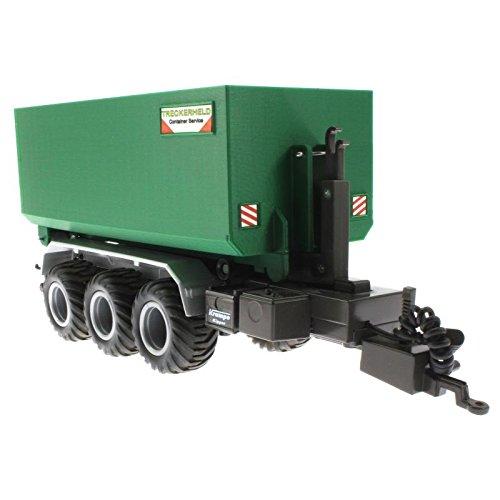 Mulden Hoch Container für Siku Control 32 Krampe Hakenlift (6786) (Grün)