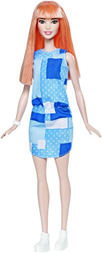 Barbie Fashionistas Doll 60 Patchwork Denim