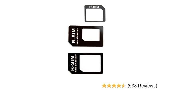 Adaptateur Carte Micro Sim Nano Sim Iphone 5 Iphone 4 Iphone 4s