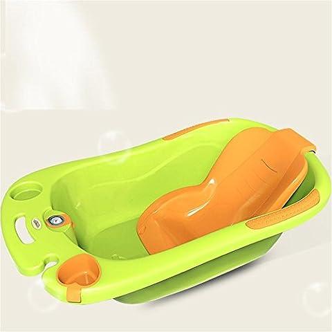 SHISHANG Kinder Badewanne Babywanne kann im allgemeinen Kindern Badewanne Größe geeignet für 0-6 Jahre alt Baby Umweltschutz PP-Kunststoff-Sicherheit ungiftig Größe 89x52x25cm sitzen , 3