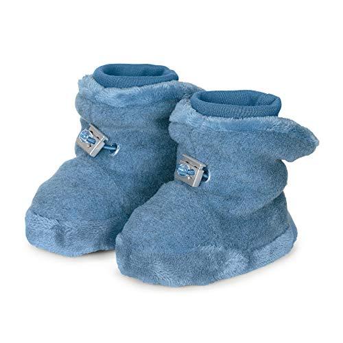 Sterntaler Baby-Schuh, Jungen Krabbelschuhe, Blau (Mittelblau Mel. 375), 15/16 EU -