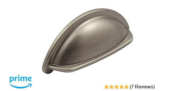 High Quality 10 x Antique Period Cabinet Door Drawer Pull Pewter effect Ariel Cup Handle