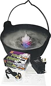 Halloween Mist Maker Plus FREE Cauldron Party Prop LED Light Up Decoration