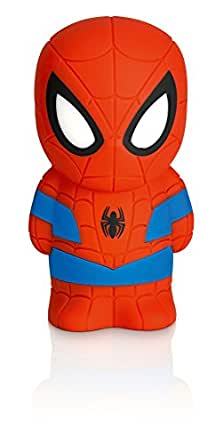 Philips Marvel Spiderman LED Nachtlicht, blau / rot 717684016